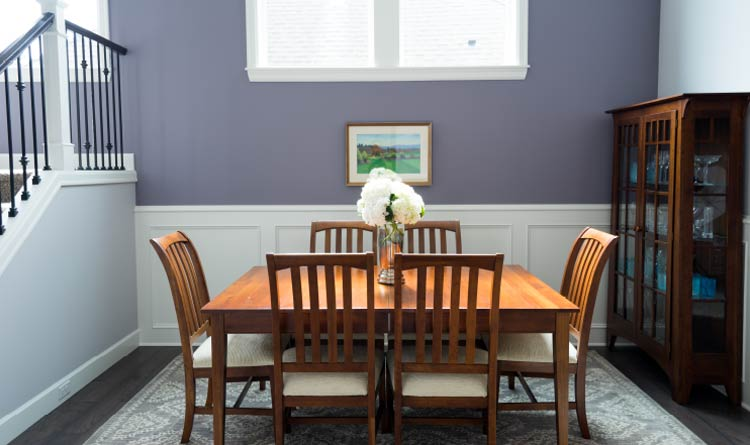 dining room interior walls painted by Itech Painting Pros