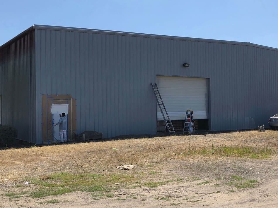 Commercial building painting in Oregon